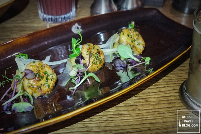 RARE Dubai restaurant - Seared Diver Scallop