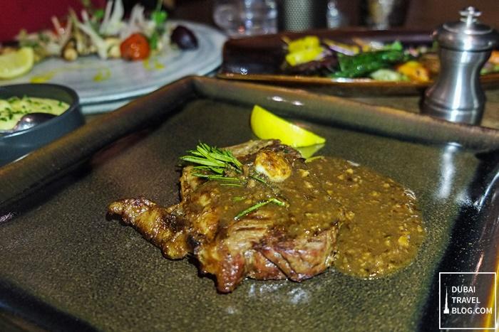 RARE sirloin steak dubai