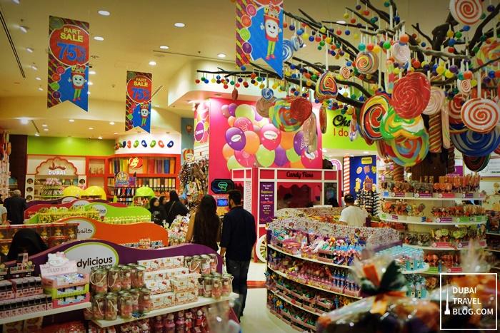 candylicious store dubai mall