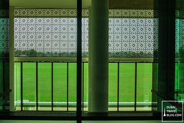 view from window desert palm dubai