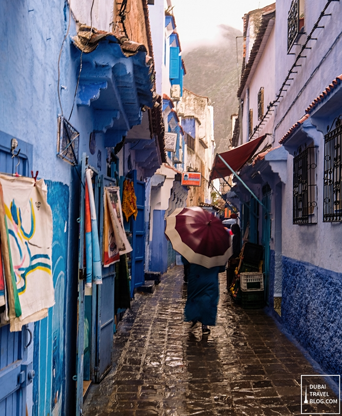 blue town morocco