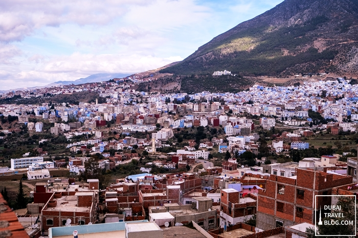 chefchaouen in rif mountains morocco