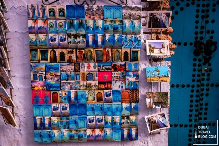 fridge magnet chefchaouen morocco