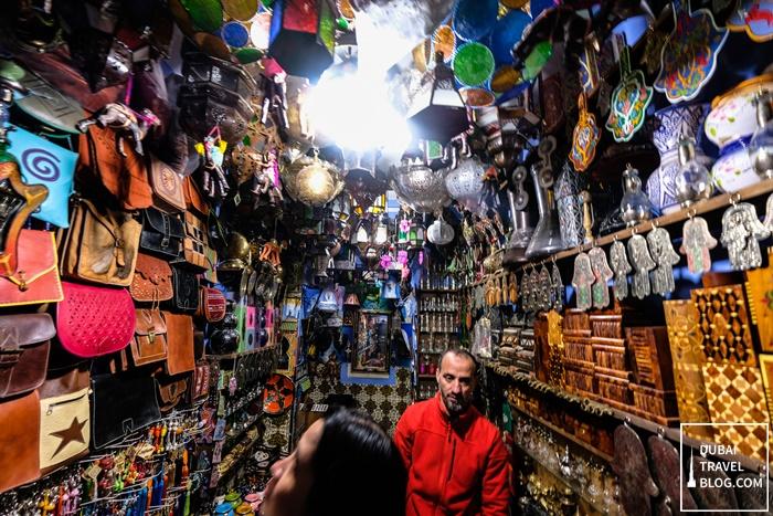 handicraft shop in morocco