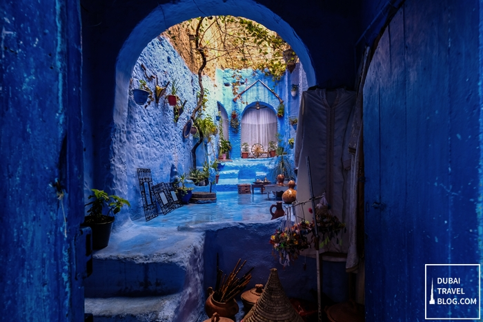 morocco blue town chefchaouen