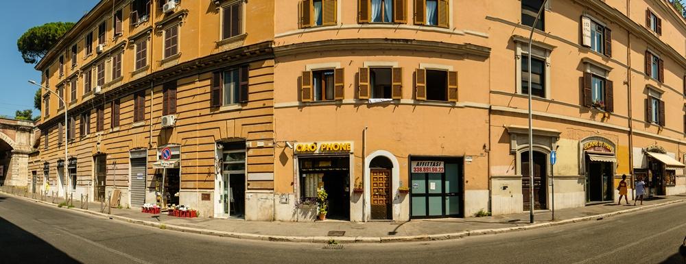 via aurelia street rome italy