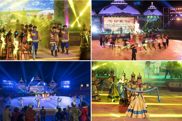 Tonghu Grassland Zhongwei Cultural show