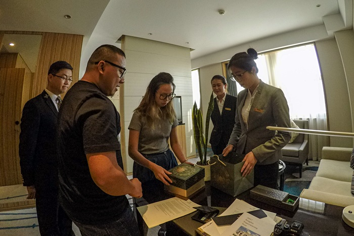 dubai blogger in xifujing hotel ningxia