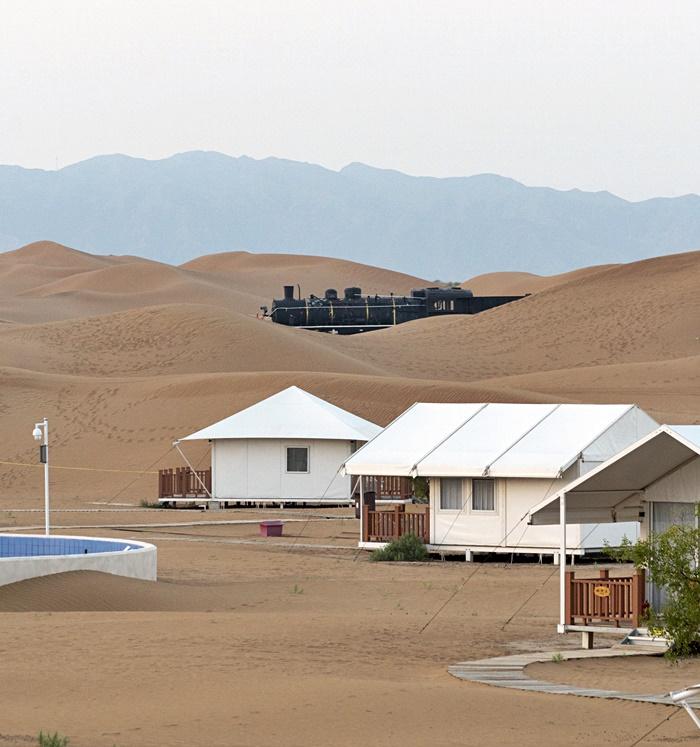gold sand sea resort ningxia