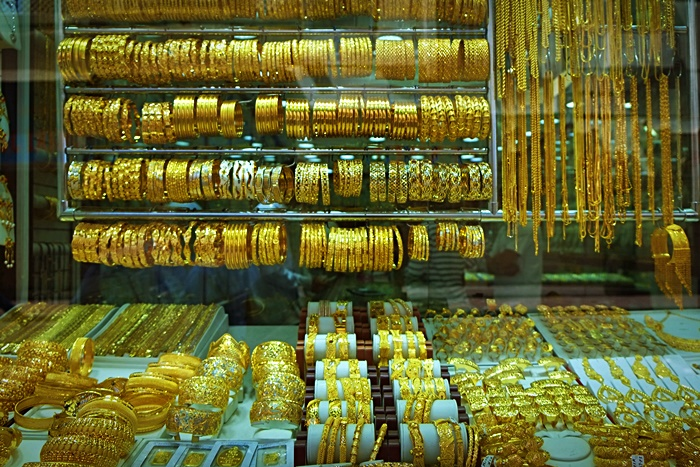 gold souk in dubai photo