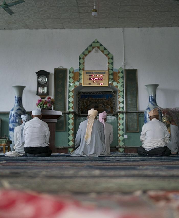 muslim village wuzhong