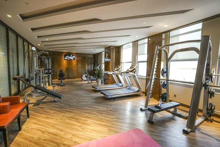xifujing hotel gym ningxia