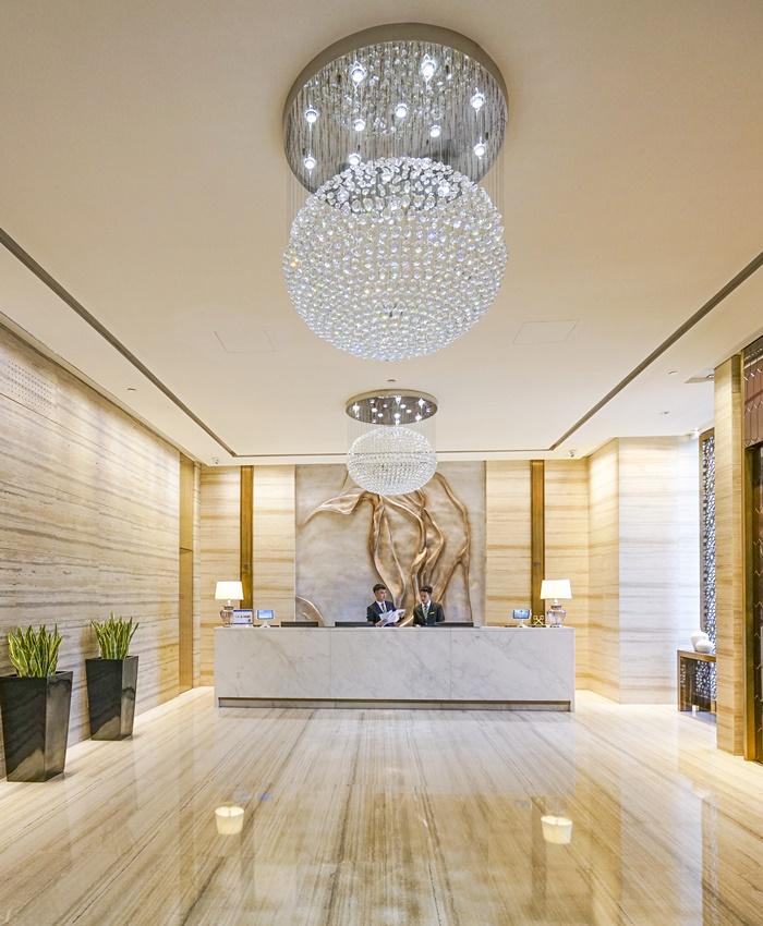 xifujing hotel lobby