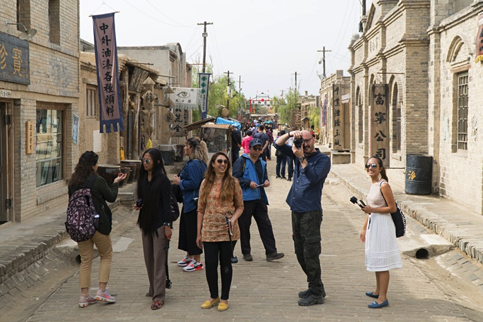 zhenbeibao west movie city photo