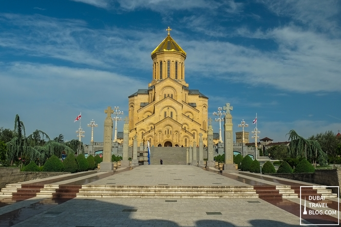 Old Sameba Church Holy Trinity Church Tbilisi Georgia