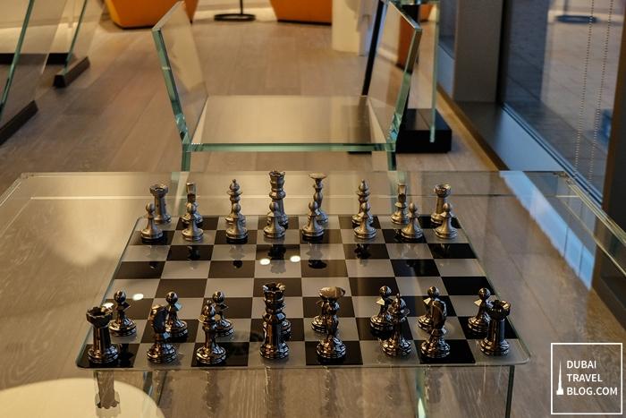 chessboard on glass - jetex dubai