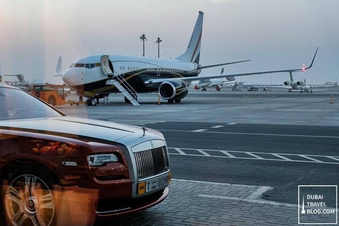 jetex airport dubai
