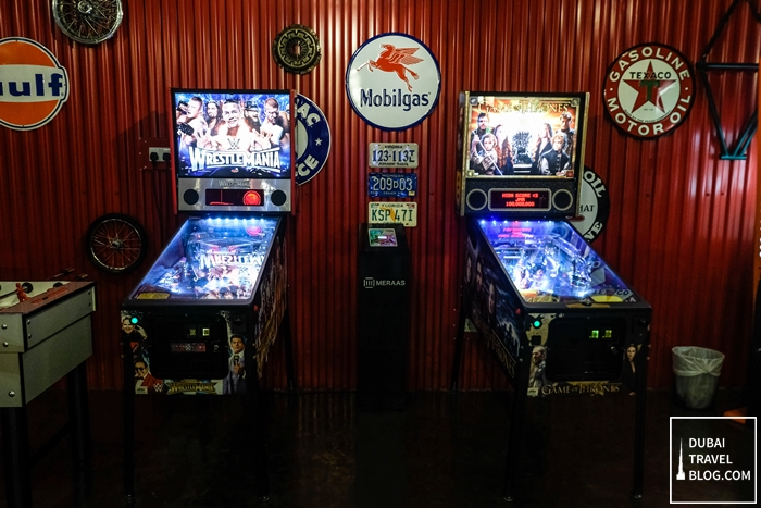 pinball machines last exit dubai
