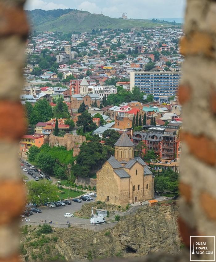 tbilisi view of georgia