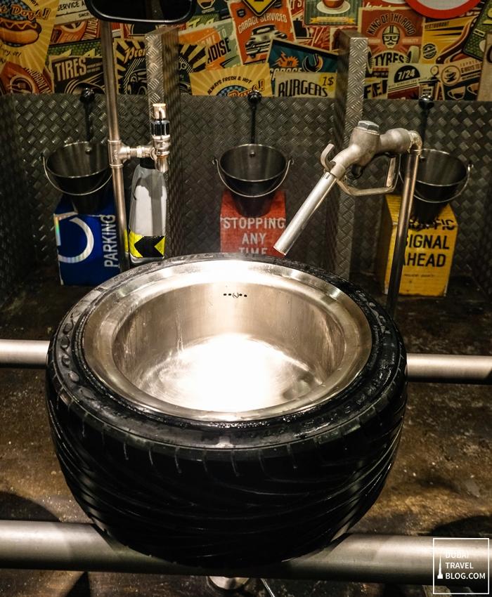 tire basin last exit dubai toilet