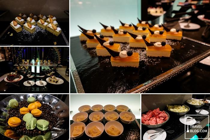 desserts at lamesa restaurant dubai