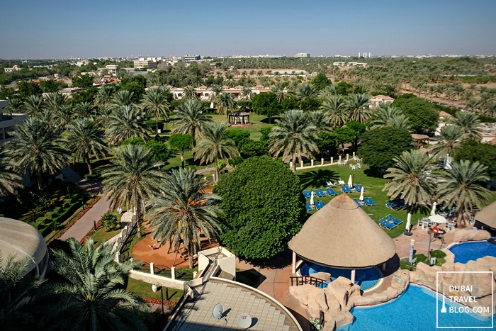 green al ain city danat resort