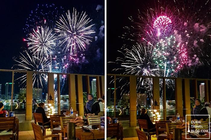 fireworks al seef dubai