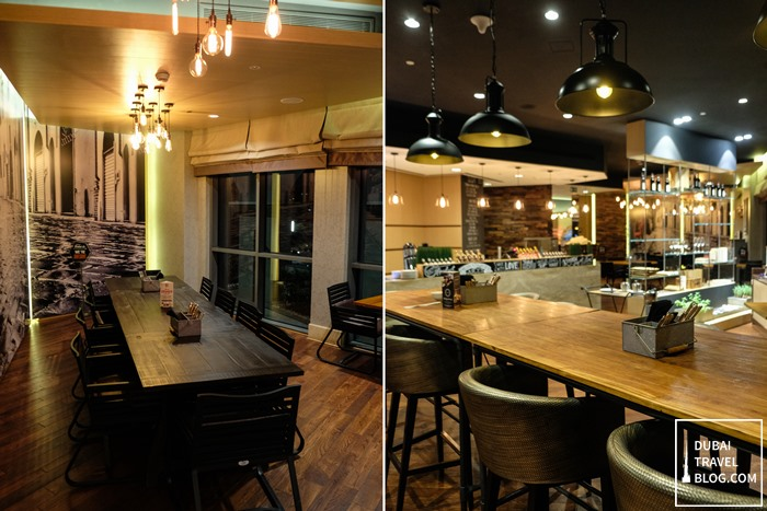 interior market24 restaurant