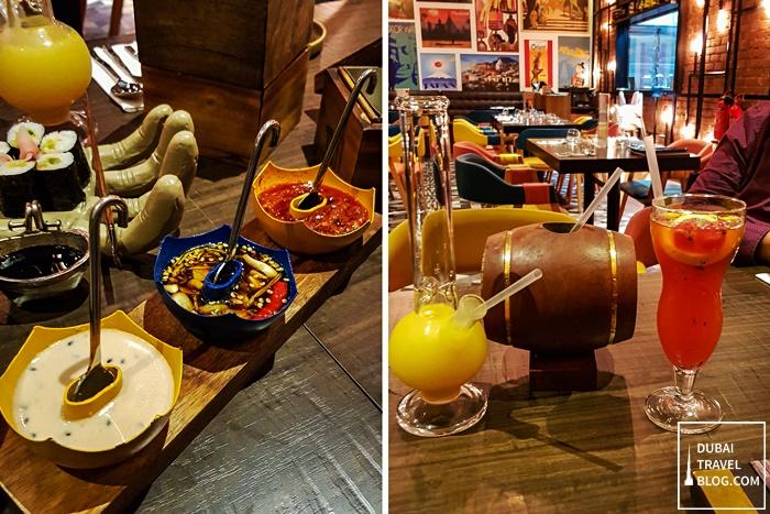 tum tum asia dubai restaurant drinks