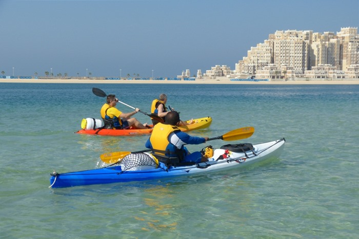 kayaking uae