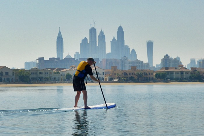 stand up paddleboard dubai