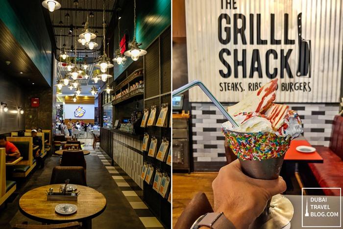 the grill shack restaurant dubai