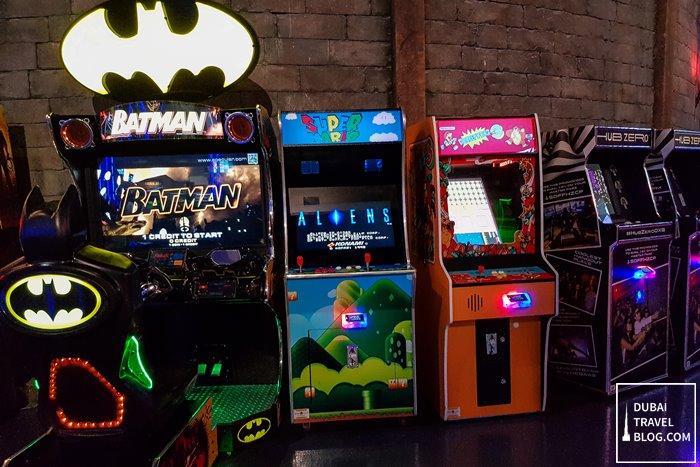 arcade games in dubai hub zero