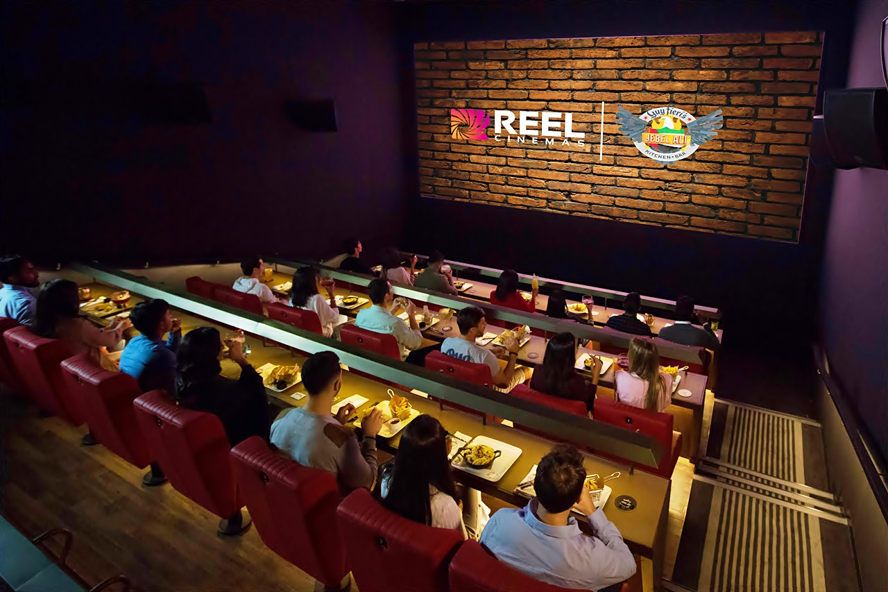 dine in cinema reel cinemas jebel ali