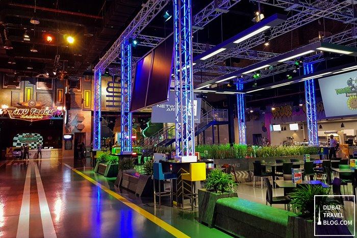 food court area hub zero dxb