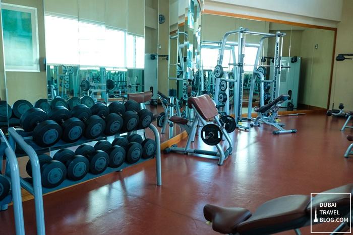 grand millenium al wahda abu dhabi gym