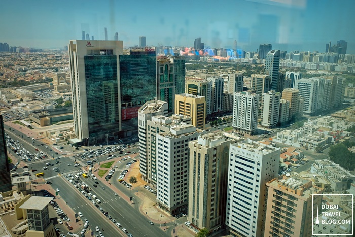 view from grand millenium al wahda