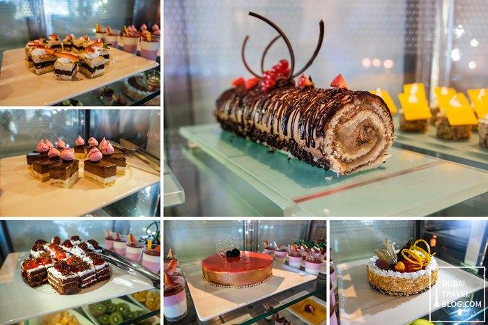dessert at tides restaurant