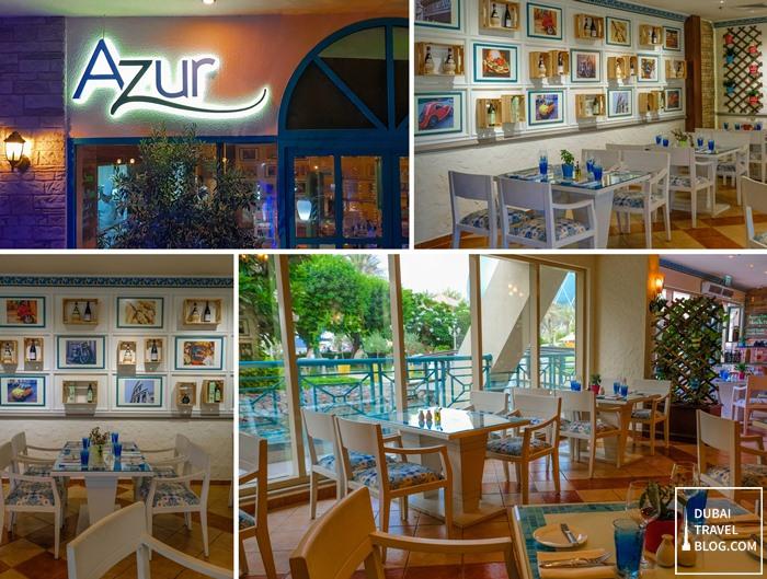 azur restaurant interior abu dhabi