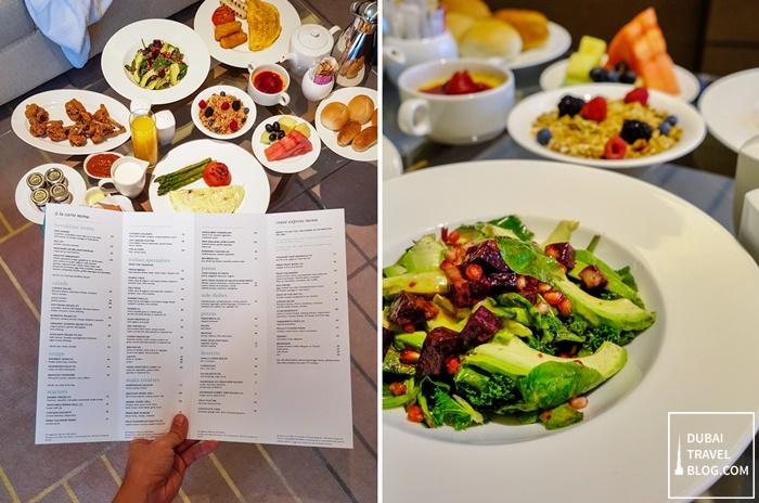 inroom dining hyatt regency dubai creek heights