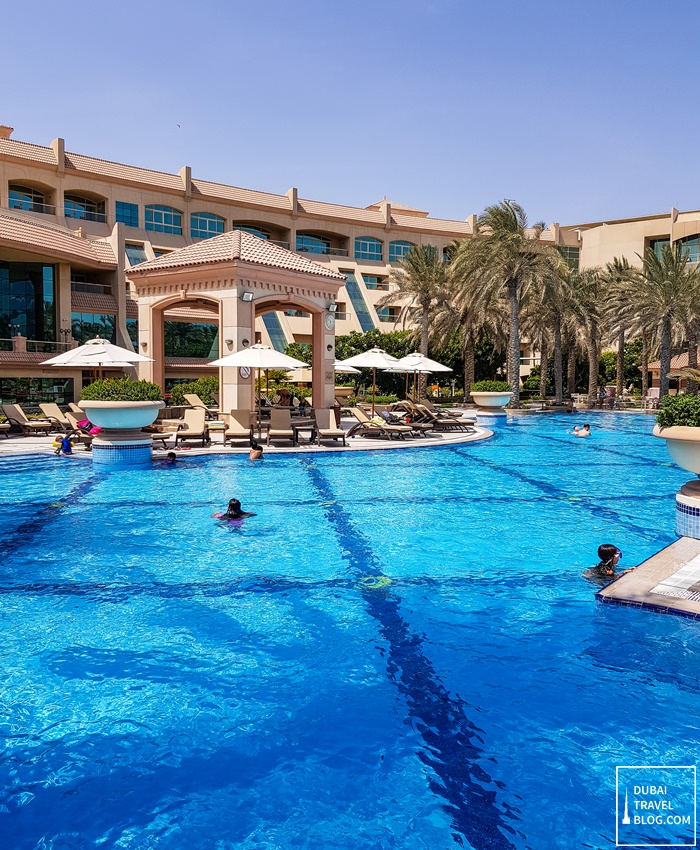 al raha beach outdoor pool