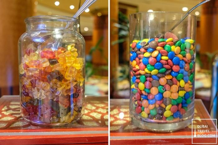 candies gummy bears al raha beach hotel