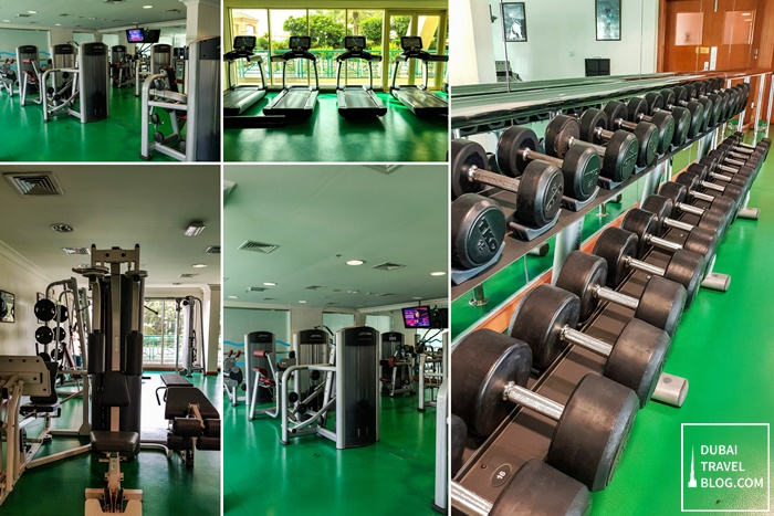 gym fitness center al raha beach hotel