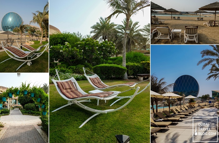 hotel grounds al raha beach hotel
