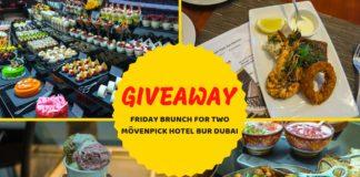 giveaway movenpick hotel bur dubai friday brunch