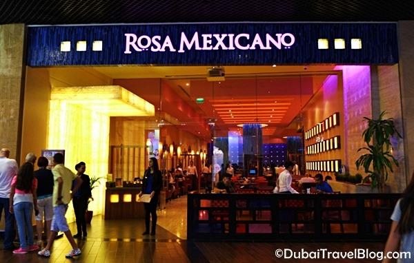 rosa mexicano dubai