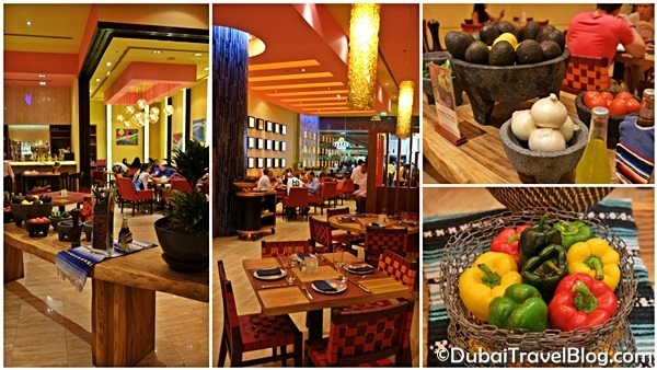 rosa mexicano the dubai mall