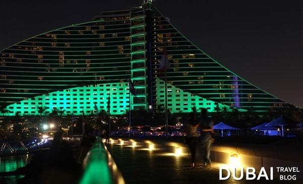 jumierah beach hotel green