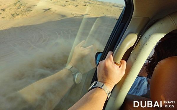 sand bashing desert safari