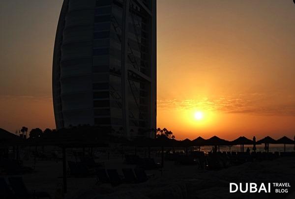 sunset-burj-al-arab-beach
